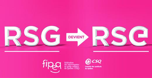 RSG devient RSE